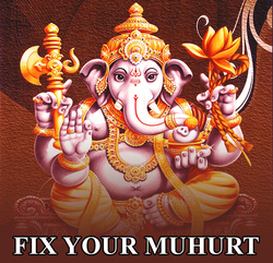 Fix Your Muhurat