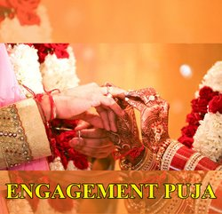 Engagement Puja - Sagai